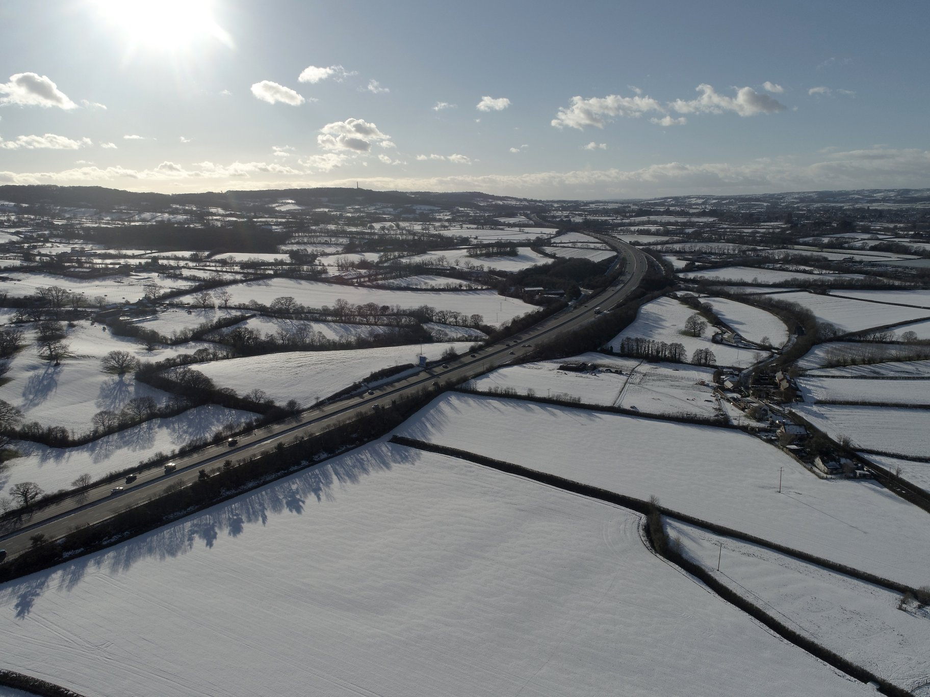 Filds & M5 Snow Jan 2019