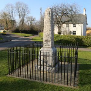 West Buckland War Memorial