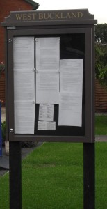 Noticeboard website